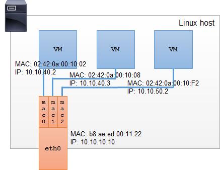 Linux Macvlan